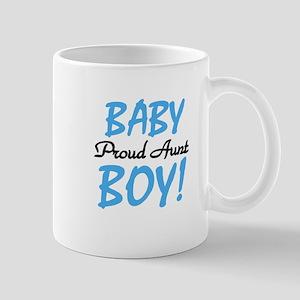 Baby Boy Proud Aunt Mug