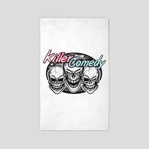 Laughing Skulls: Killer Comedy Area Rug