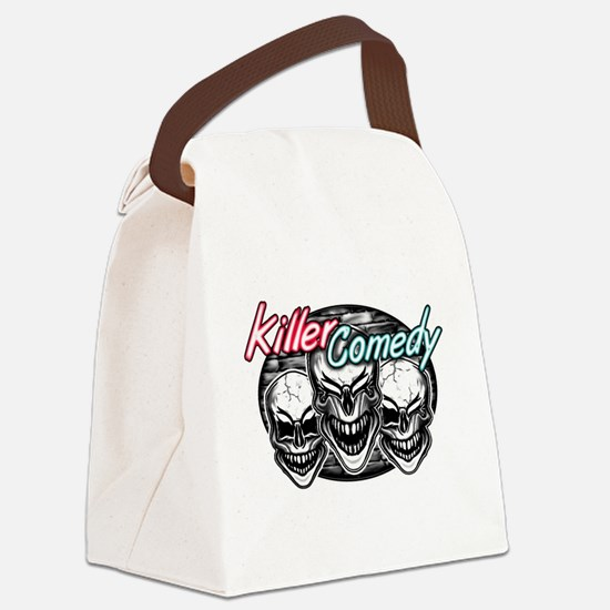 Laughing Skulls: Killer Comedy Canvas Lunch Bag