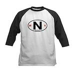 Norway Euro-style Code Kids Baseball Jersey
