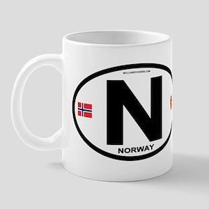 Norway Euro-style Code Mug