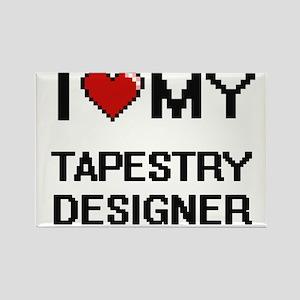 I love my Tapestry Designer Magnets