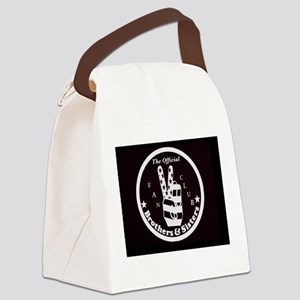Brothers & Sisters Club Canvas Lunch Bag