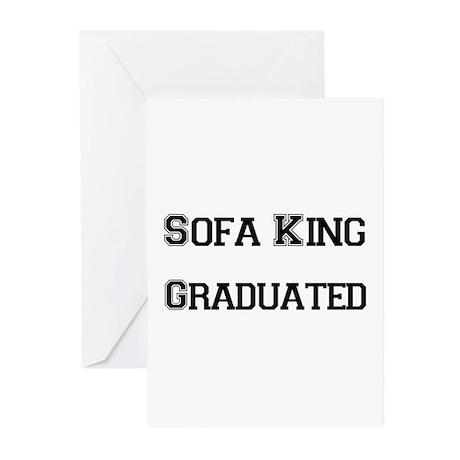 Sofa King Grad Greeting Cards (Pk of 20)