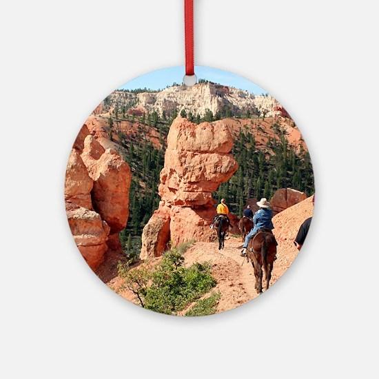 Bryce Canyon, Utah, USA 2 Ornament (Round)