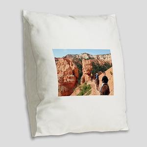 Bryce Canyon, Utah, USA 2 Burlap Throw Pillow