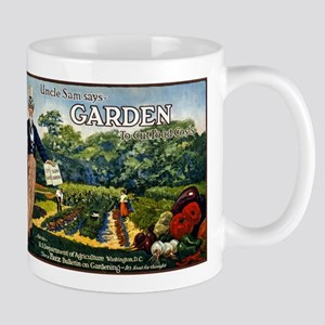 UNCLE SAM GARDEN coffee cup