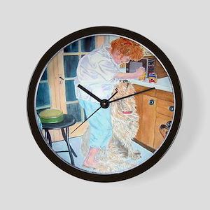 Feeding Time Wall Clock