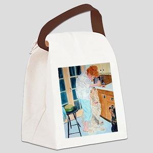 Feeding Time Canvas Lunch Bag