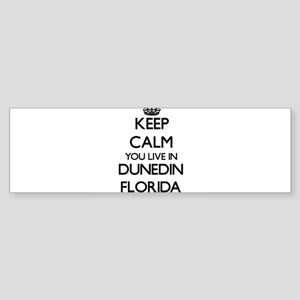 Keep calm you live in Dunedin Flori Bumper Sticker