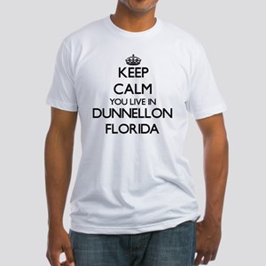 Keep calm you live in Dunnellon Flor T-Shirt