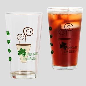 Irish Drink Drinking Glass