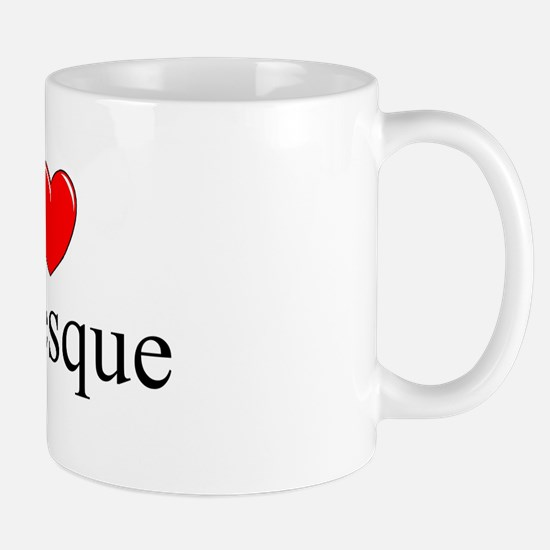 """I Love (Heart) Burlesque"" Mug"