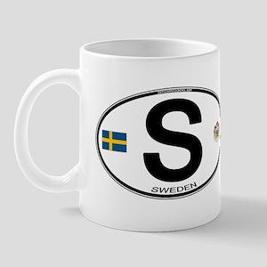 Sweden Euro-style Code Mug