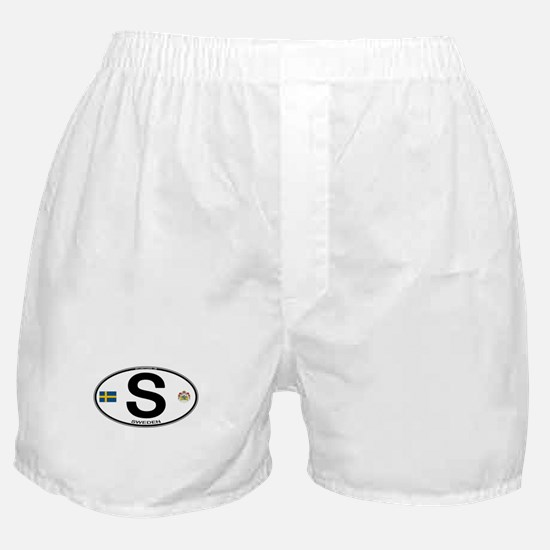 Sweden Euro-style Code Boxer Shorts