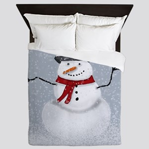Snowman Queen Duvet