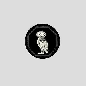 Athena's Owl Mini Button