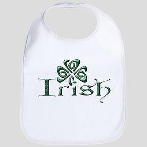Irish: Celtic Shamrock' Bib