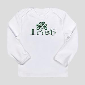 Irish: Celtic Shamrock' Long Sleeve Infant T-Shirt