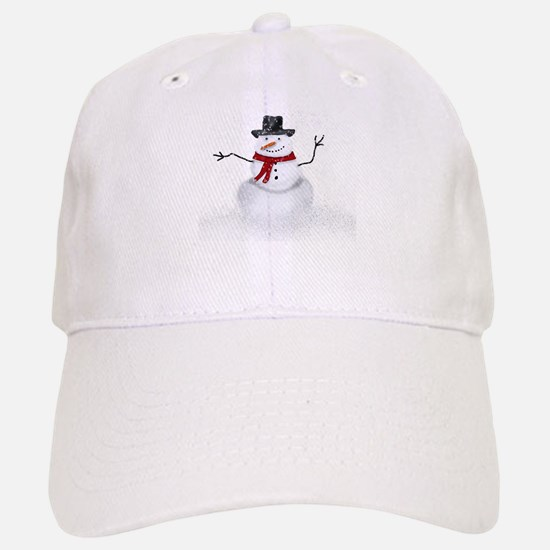 Snowman Baseball Baseball Baseball Cap