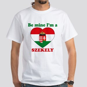 Szekely, Valentine's Day White T-Shirt