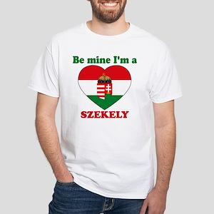 Szekely, Valentine's Day White T-Shirt
