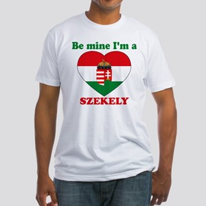 Szekely, Valentine's Day Fitted T-Shirt