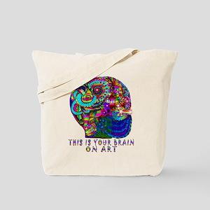 ART BRAIN Tote Bag