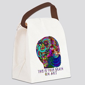 ART BRAIN Canvas Lunch Bag
