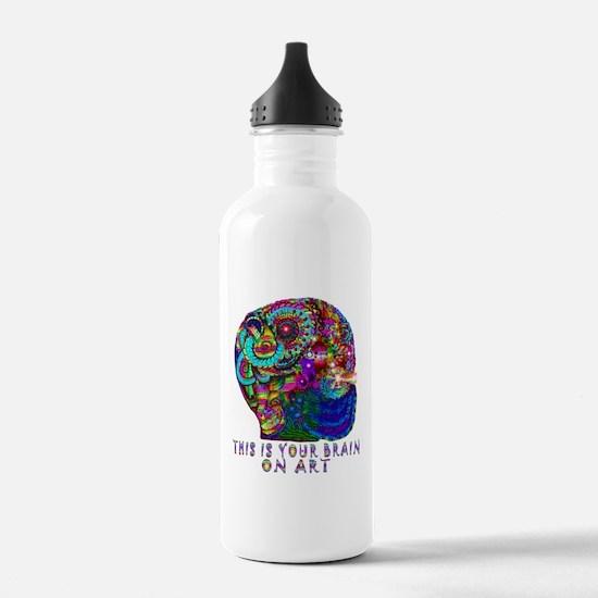 ART BRAIN Water Bottle
