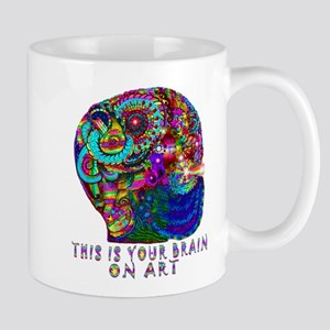ART BRAIN Mugs