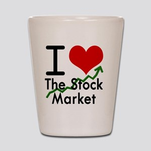 Stock Market Shot Glass