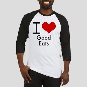 Good Eats Baseball Jersey