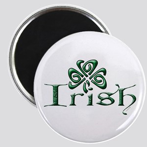 Irish: Celtic Shamrock' Magnet