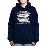 SBC List reverse Women's Hooded Sweatshirt