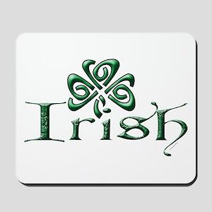 Irish: Celtic Shamrock' Mousepad