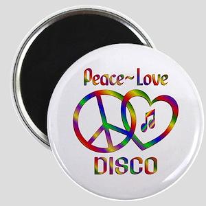 Peace Love Disco Magnet