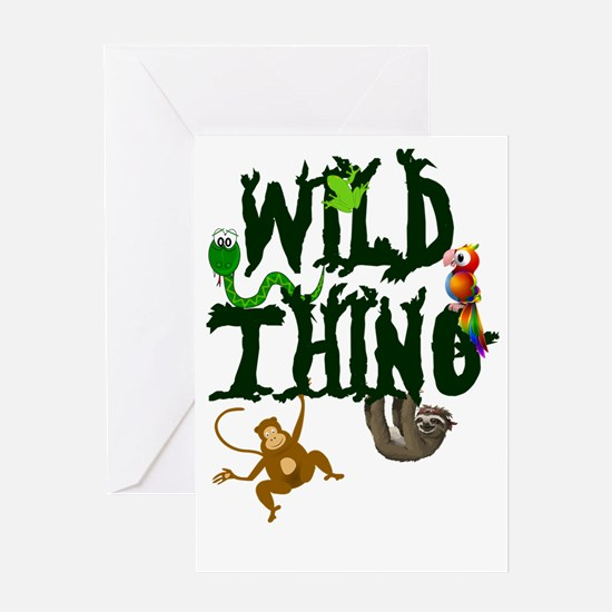 Wild Thing Greeting Card