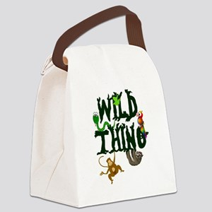 Wild Thing Canvas Lunch Bag
