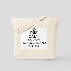 Keep calm you live in Treasure Island Flo Tote Bag