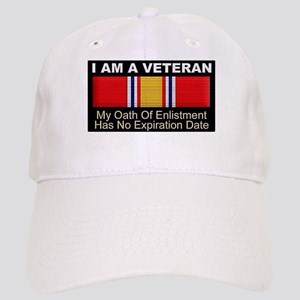 I Am A Veteran Baseball Cap