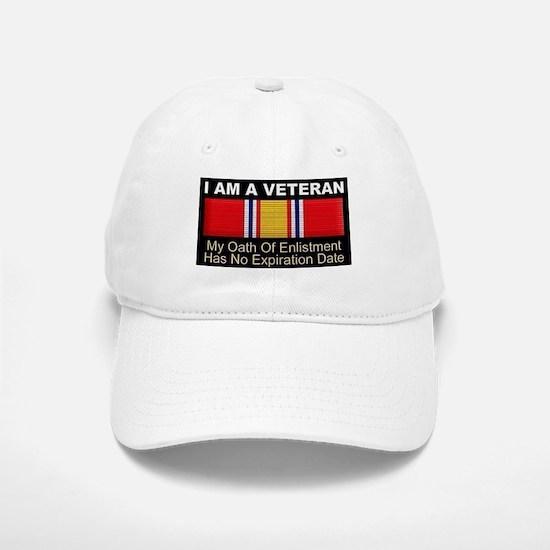 I Am A Veteran Baseball Baseball Baseball Cap