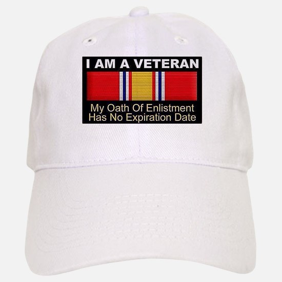 I Am A Veteran Baseball Cap
