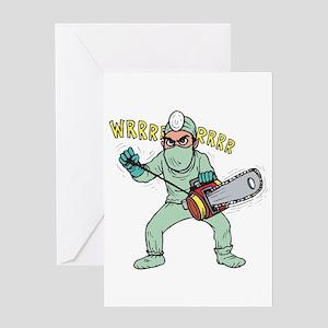 surgery humor Greeting Card