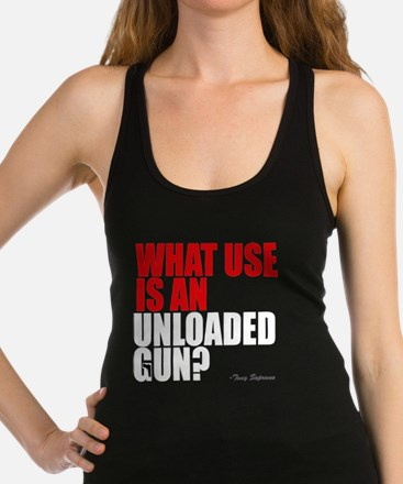 Unloaded Gun Racerback Tank Top
