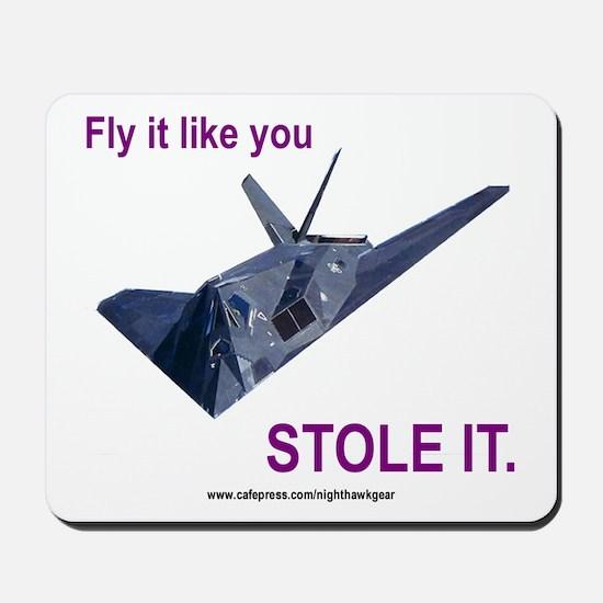 F117 Nighthawk Mousepad