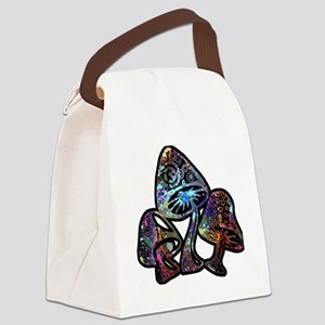 GALAXY MUSHROOMS Canvas Lunch Bag