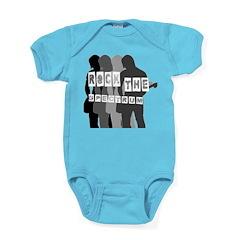 rock the spectrum Baby Bodysuit