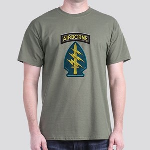 Us Army Special Forces Airborne Insignia T-Shirt