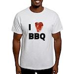 I Love Bbq Men's Light T-Shirt